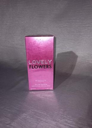 Туалетная вода entity lovely flowers женская 30мл