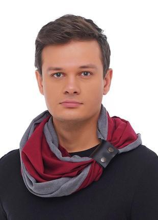 Стильный кашемировый шарф милан