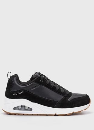 Оригинальные женские кроссовки  skechers solid air (155132 blk)
