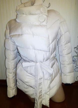 Стильная куртка косуха пуховик как новая