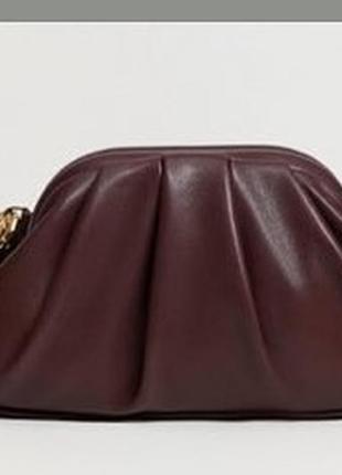 Тренд сумка пельмень от jocasi london винтаж ручная работа handmade ридикюль клатч