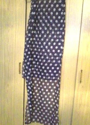 Чудесный шарф, размер 50х180см