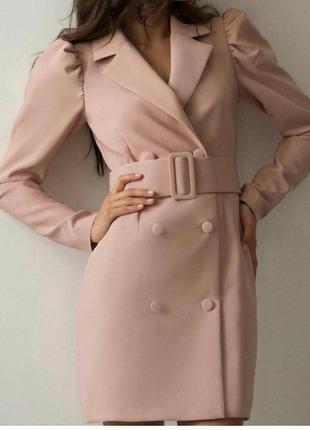 Платье пиджак1 фото