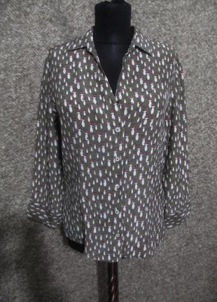 Шелковая блузка robert friedman