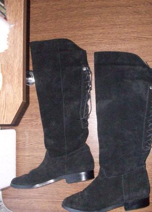 Эксклюзивные сапоги известнийшего бренда pedoflex на большую ножку. размер 40.