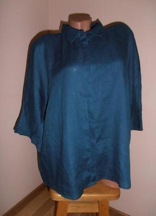 Очень красивая льняная рубашка, блуза paul kehl