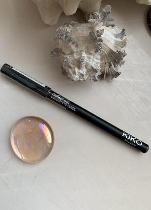 Kiko milano smart colour eyepencil карандаш для глаз 16 antracite metallico, графит