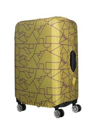 Чехол для дорожного чемодана с принтом