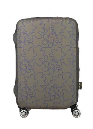 Защитный чехол для дорожного чемодана цвета хаки