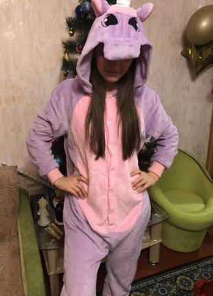 Тёплая пижамка в стиле 🦄💗