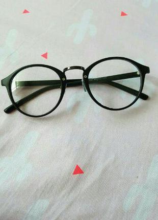 60c886414fa Стильные круглые имиджевые очки. очки для имиджа. очки для стиля ...
