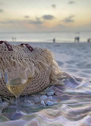Сумка на пляж на море 2020 хит зара пляжная