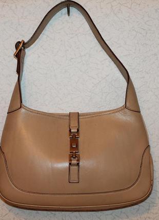 Кожаная сумка от gucci