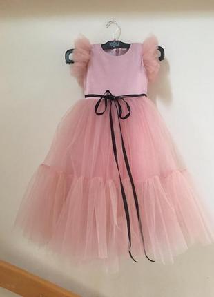 Платье пудра