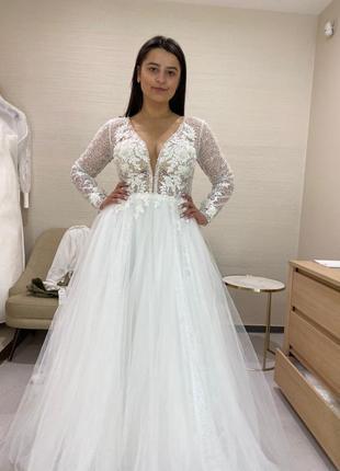 Свадебное платье millanova