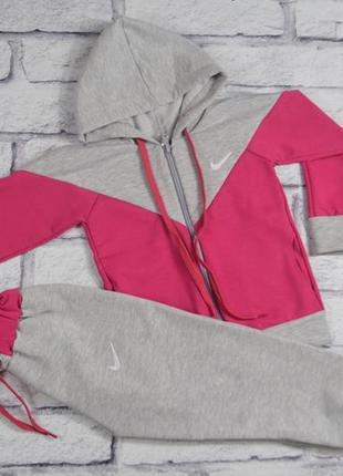 Костюм, качественная двунитка, логотипы - вышивка, на 5-6 лет,есть другие размеры