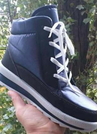 Ботинки кроссовки зимние хайтопы