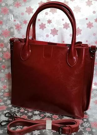 Кожаная сумка. натуральная кожа.