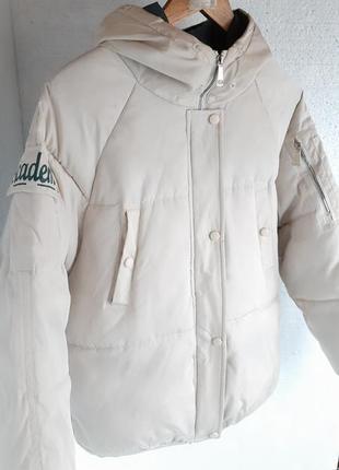 Теплая куртка оверсайс