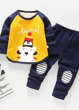 Мягенькие, тёплые, пижамки на плюше! можно носить как домашний костюмчик
