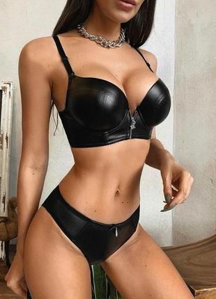 Женское белье кожа вакуумные массажеры для груди
