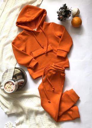 Супер стильный тёплый костюм