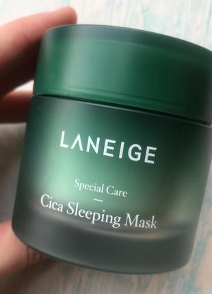 Ночная крем маска laneige