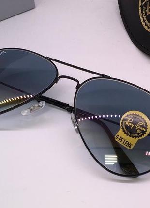 Ray ban очки женские солнцезащитные черные линзы минеральное стекло