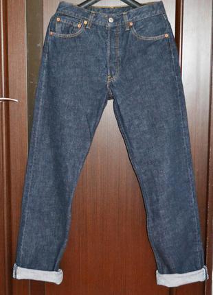 Плотные джинсы бойфренды, высокая посадка levi's 501 levis оригинал