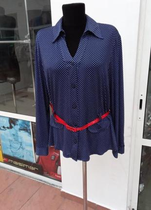 Блуза, з поясом