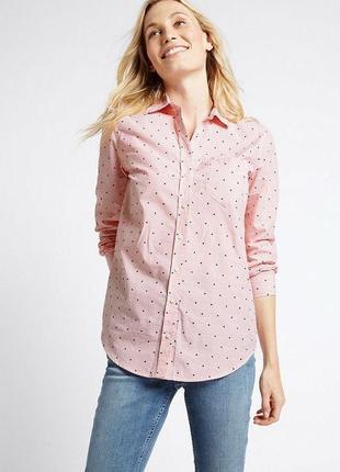 Стильная рубашка m&s