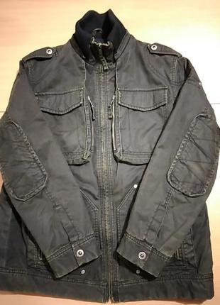 Мужская куртка в стиле миллитари xxlр-р бренда esprit (оригинал)