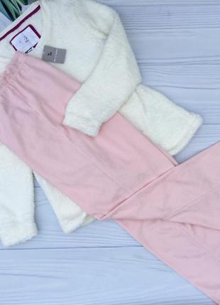 Мягкая тёплая плюшевая кофточка+штаны,комплект,пижама