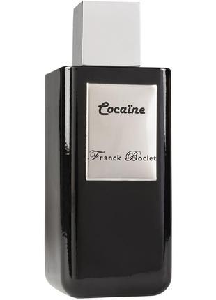 Cocaïne franck boclet