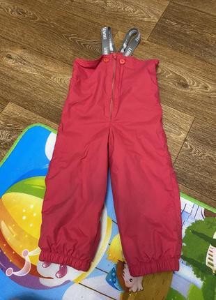 Комбинезон штаны демисезонные ленне lenne 92