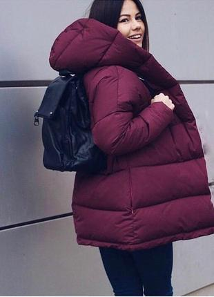 Теплая зефирка пуховик женская куртка