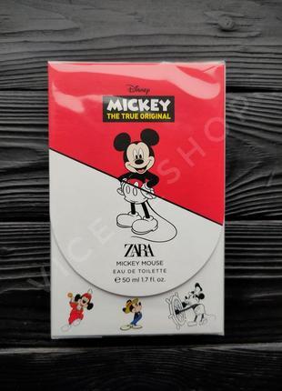 Zara mickey mouse туалетная вода парфюм испания