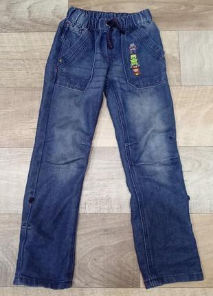 Стильные облегчённые джинсы для мальчика kiki&koko