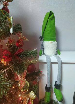 Новорічний декор - різдвяний гном