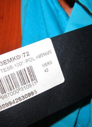 Новый комбинезон бирюзового цвета mia kruse (италия) размер s/m4