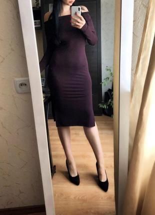 H&m сексуальное платье по фигуре размер s можно м