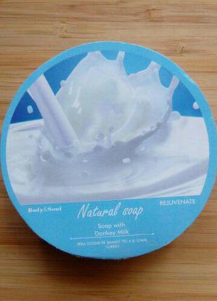 Натуральное мыло с ослиным молоком 140г турция натуральная косметика