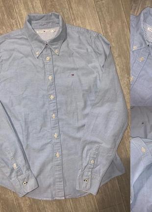 Рубашка шведка tommy hilfiger