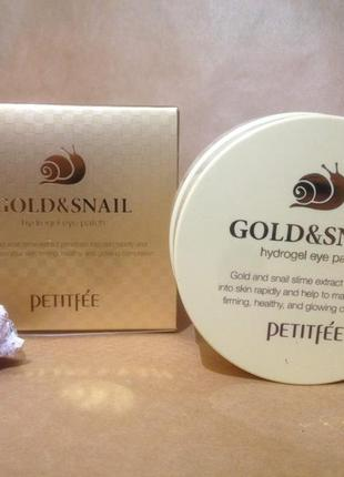 Патчи petitfee gold and snail