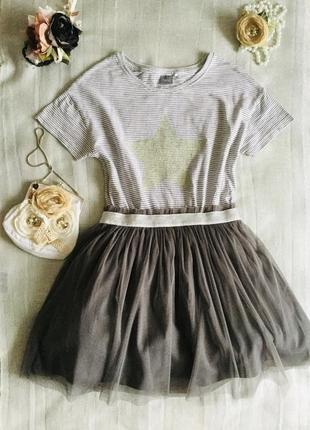 Next. последняя коллекция. трендовое модное платье, цвета мокко.