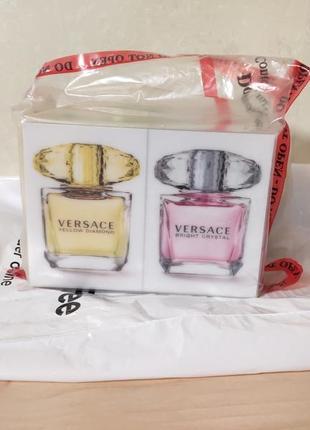 Versace crystal 30 мл + 30 мл