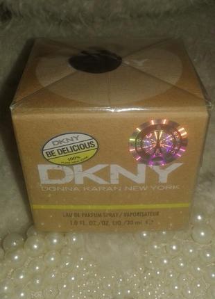Новые в упаковке  donna karan dkny be delicious, оригинал, 30 мл.