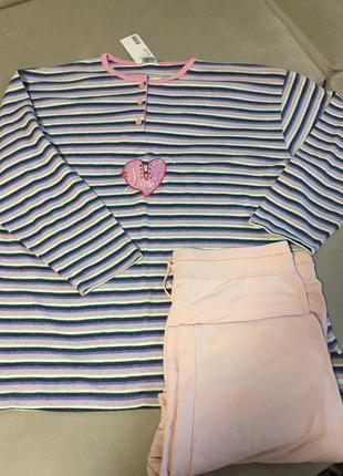 Турция шикарная фирменная пижама размер 62 64
