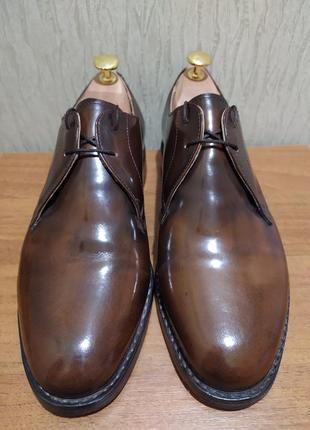 Элитные туфли samuel windsor ручная работа натуральная кожа размер 40-41 оригинал