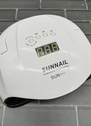 Uv/led лампа для сушки геля ,гель-лака sun x plus 54w видеообзор